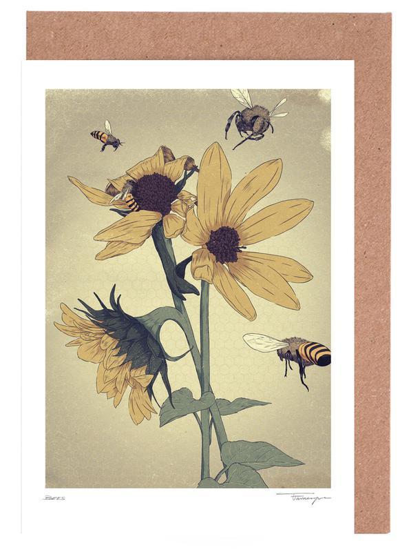 Bees -Grußkarten-Set