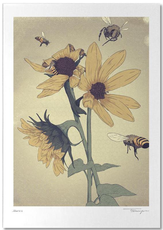 Bees -Notizblock