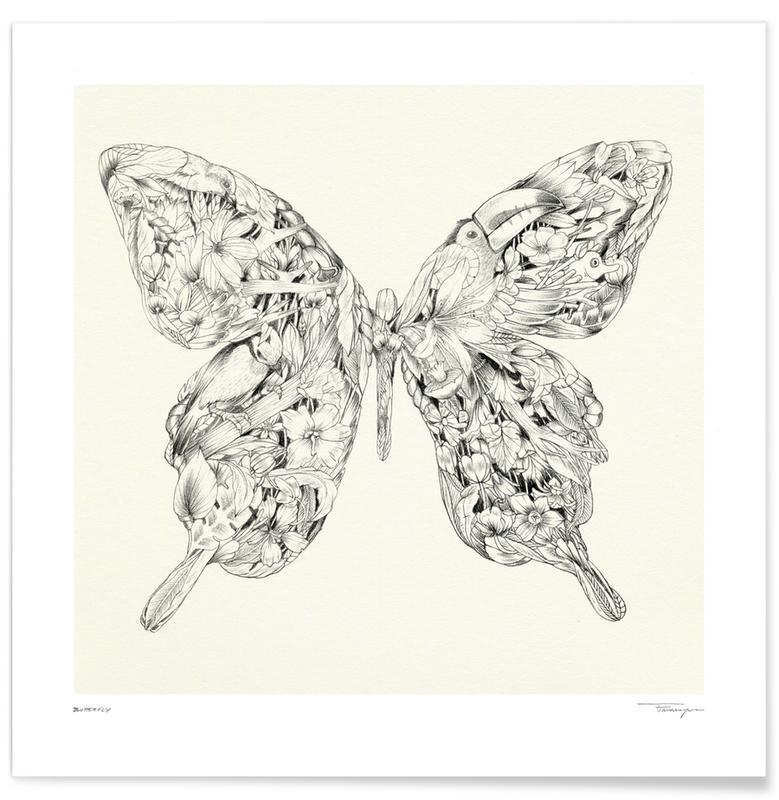 Butterflies, Butterfly Poster