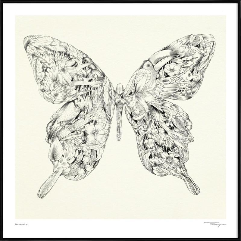 Butterfly Framed Poster