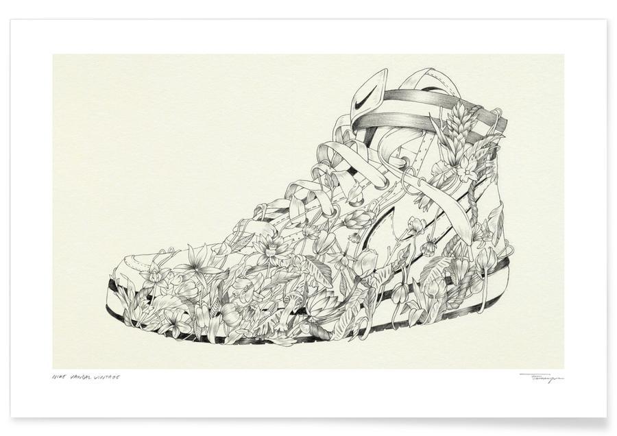 Nike Vandal Vintage -Poster