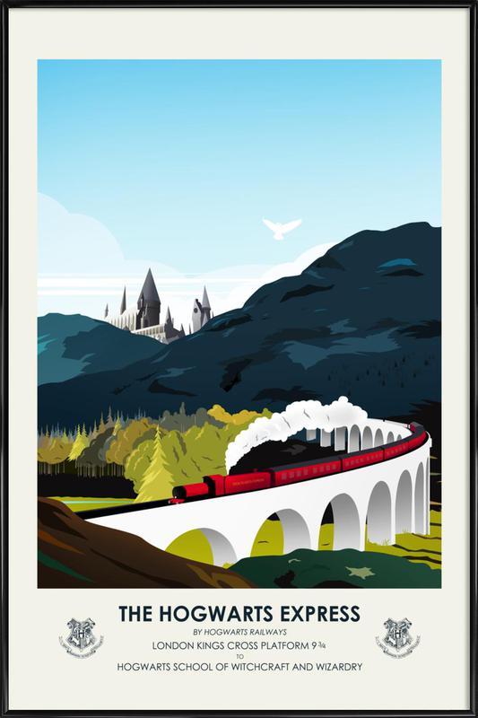 Hogwarts Express ingelijste poster