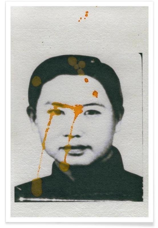 Noir & blanc, Portraits, I don´t mind if you forget me #08 affiche