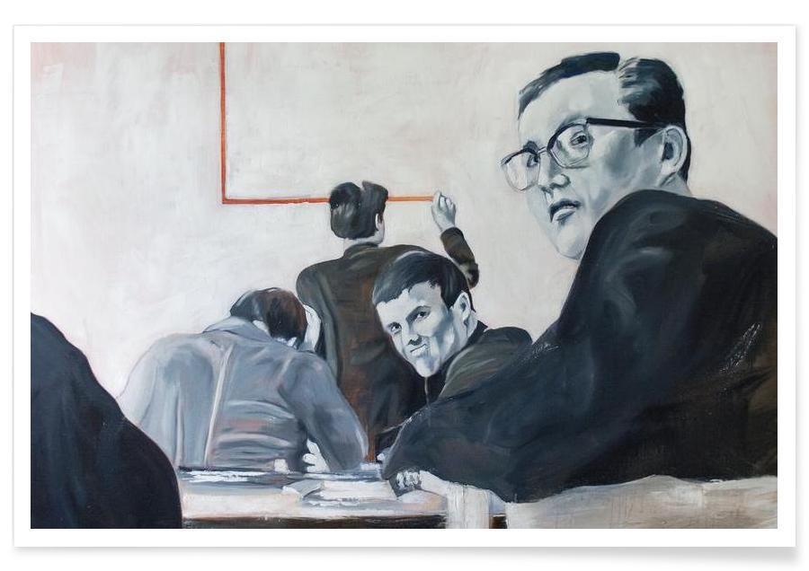 Noir & blanc, Groupes, Die Arbeit der Zeit- Johnny Trotz und die Quadratur des Kreises affiche