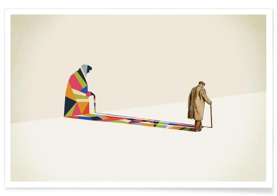 Walking Shadow - Old Man affiche