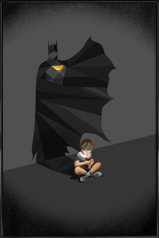 Walking Shadow - Hero 2 ingelijste poster