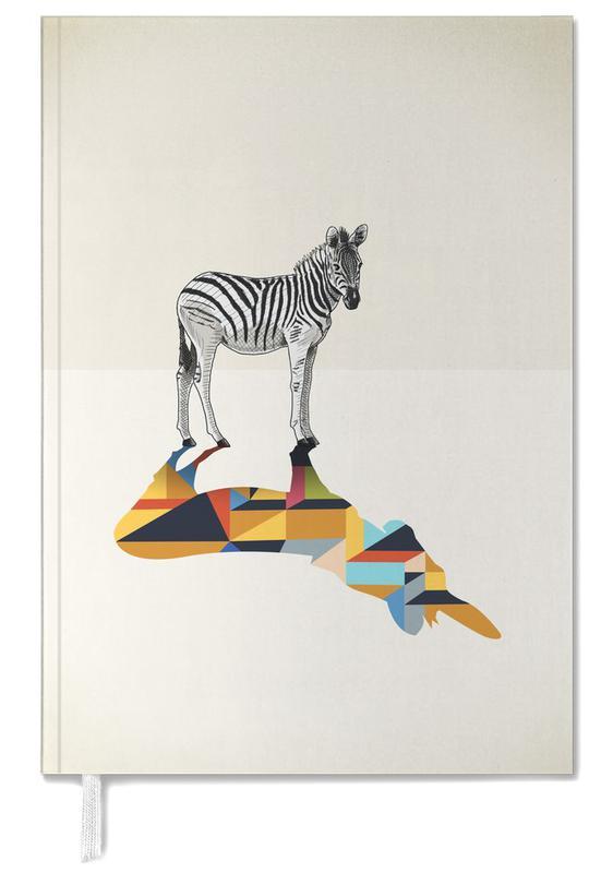 Zebras, Walking Shadow - Zebra Personal Planner