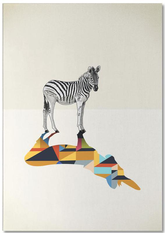 Zebras, Walking Shadow - Zebra -Notizblock