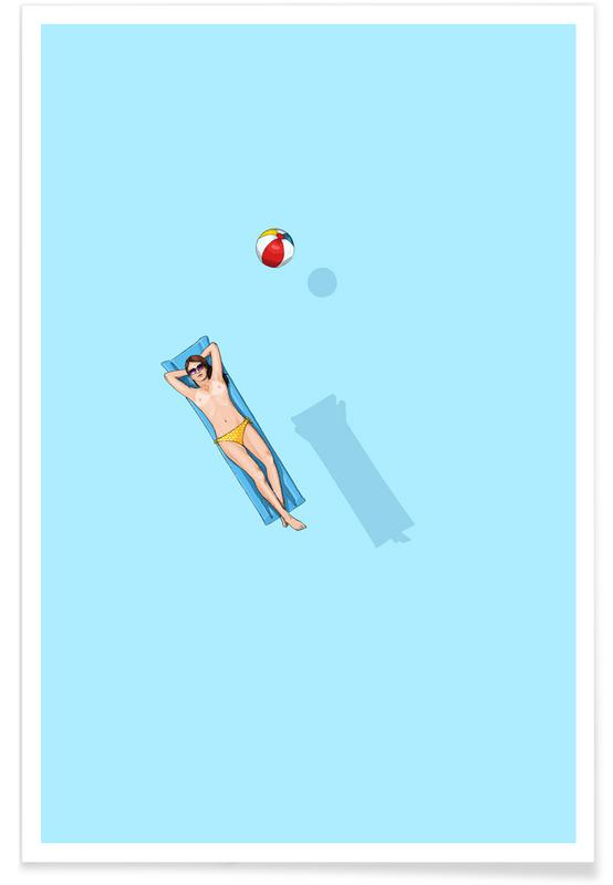 Float Under the Sun -Poster