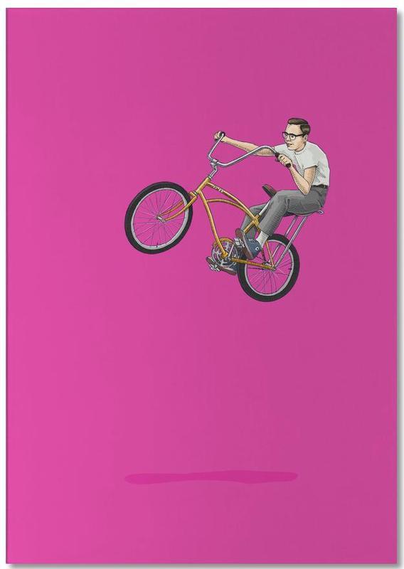 Fahrräder, Float - Among the Clouds -Notizblock