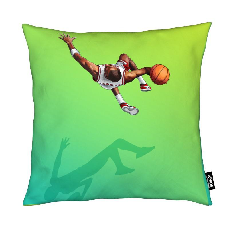 Basket-ball, Float - Like the Greatest coussin