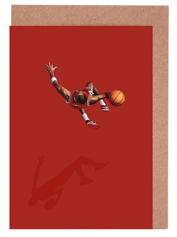 , Frequent Fliers Jordan Greeting Card Set