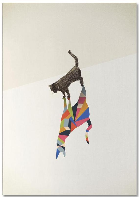 Walking Shadow - Cat Notepad