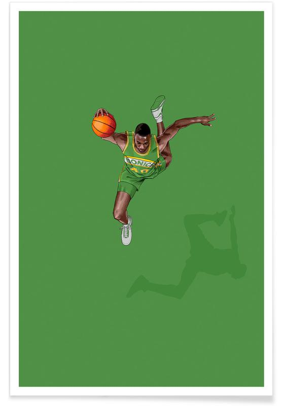 , Frequent Fliers Kemp Poster