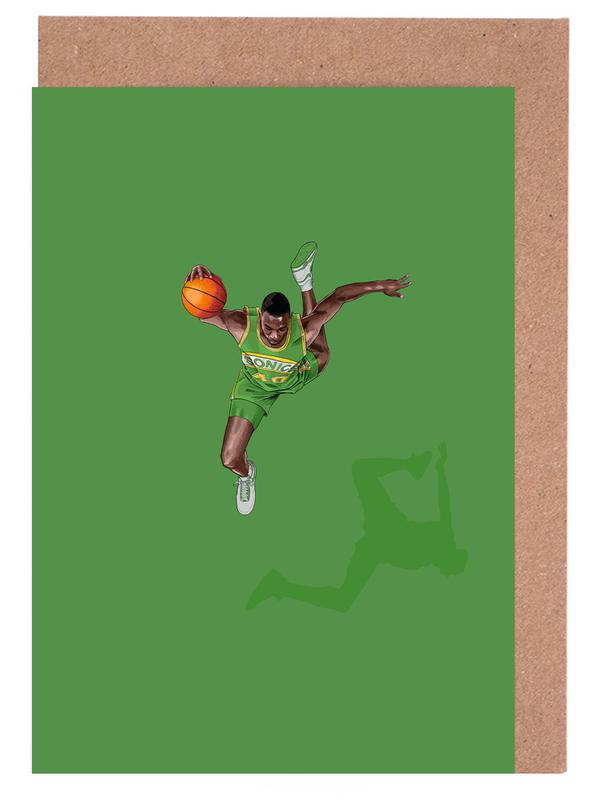 , Frequent Fliers Kemp Greeting Card Set