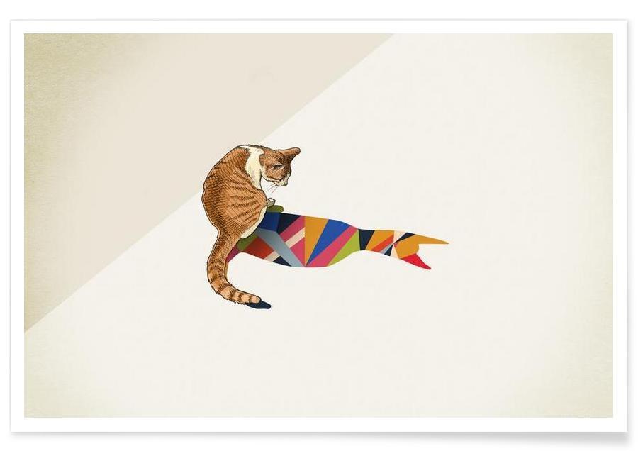 Katte, Walking Shadow - Cat 2 Plakat