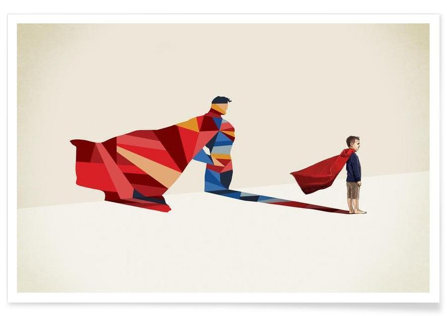 Superman, Walking Shadow - Hero 1 affiche
