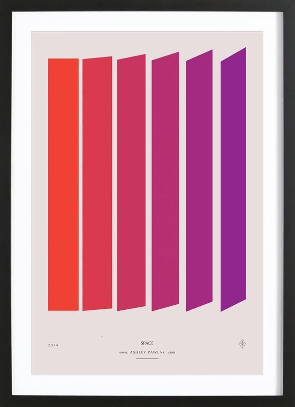 Senses - Space Framed Print