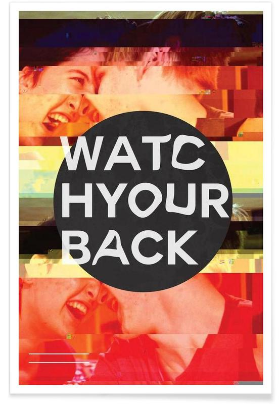 Glitch - Watch Your Back -Poster