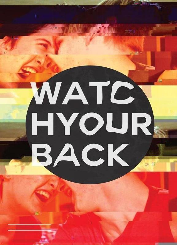Glitch - Watch Your Back canvas doek
