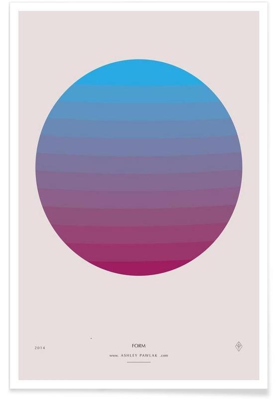 , Senses - Form Poster