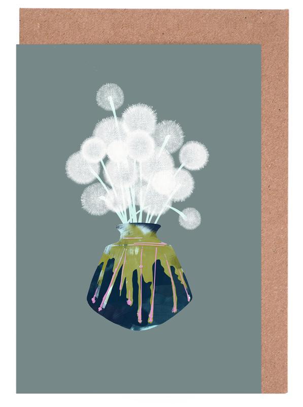 Dandelions cartes de vœux