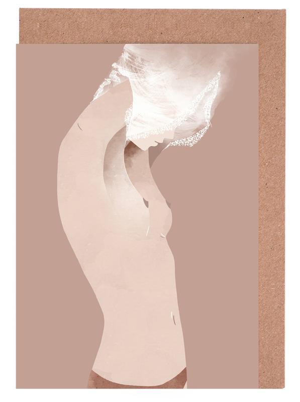 Undressing -Grußkarten-Set