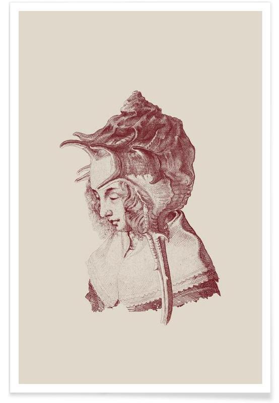 Portraits, Vintage, Haute Coiffure /#7 affiche