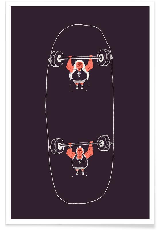 Skate, Heavyweight Skateboarding affiche