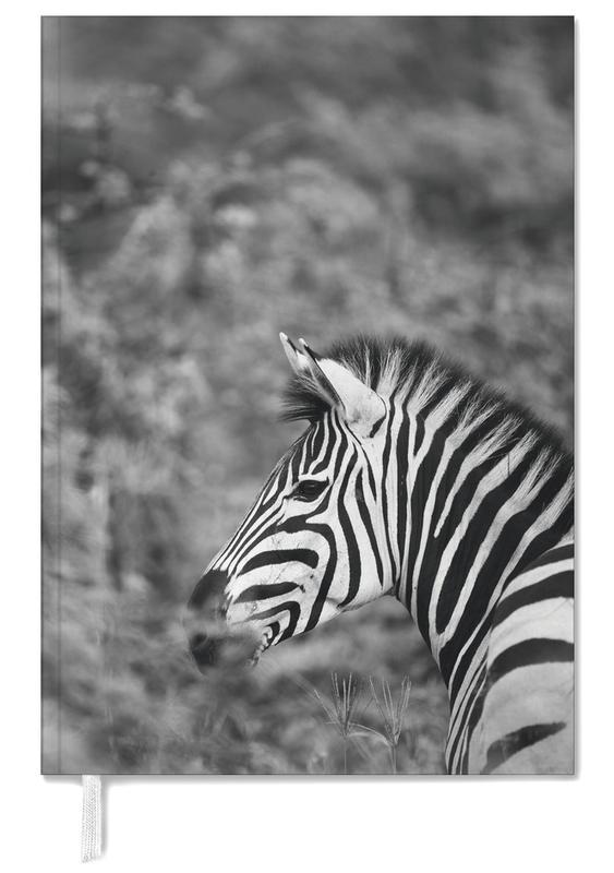 Black & White, Safari Animals, Zebra Personal Planner