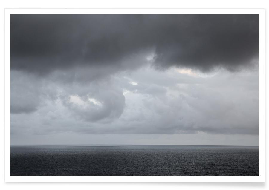 Ocean, Lake & Seascape, Skies & Clouds, Sol De Le Gogo 2 Poster