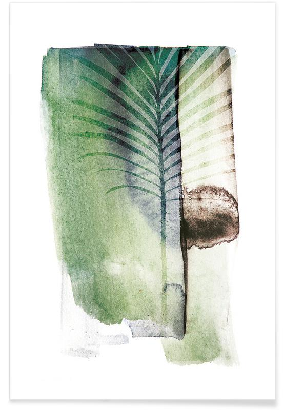 Jurassic Cycad Poster
