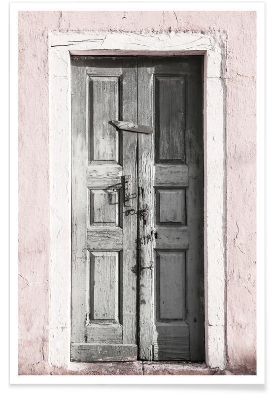 Door to Assos -Poster