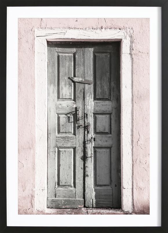 Door to Assos ingelijste print