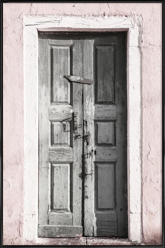 Door to Assos -Bild mit Kunststoffrahmen
