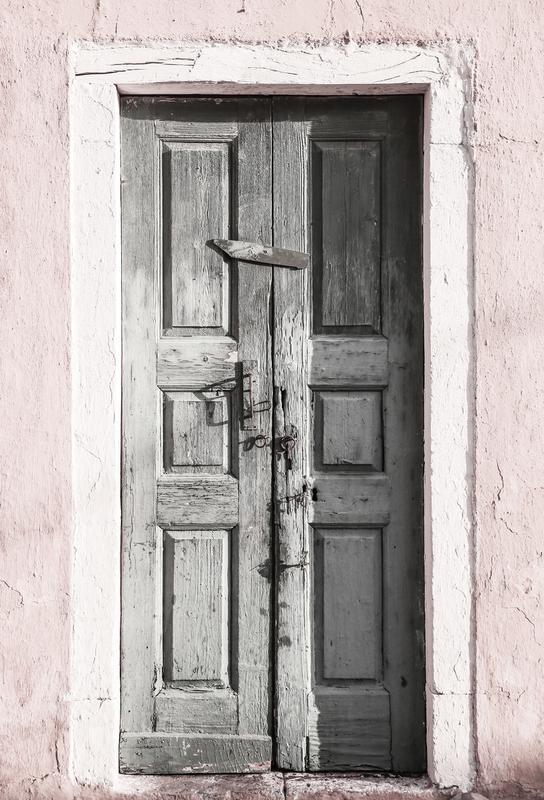 Door to Assos alu dibond