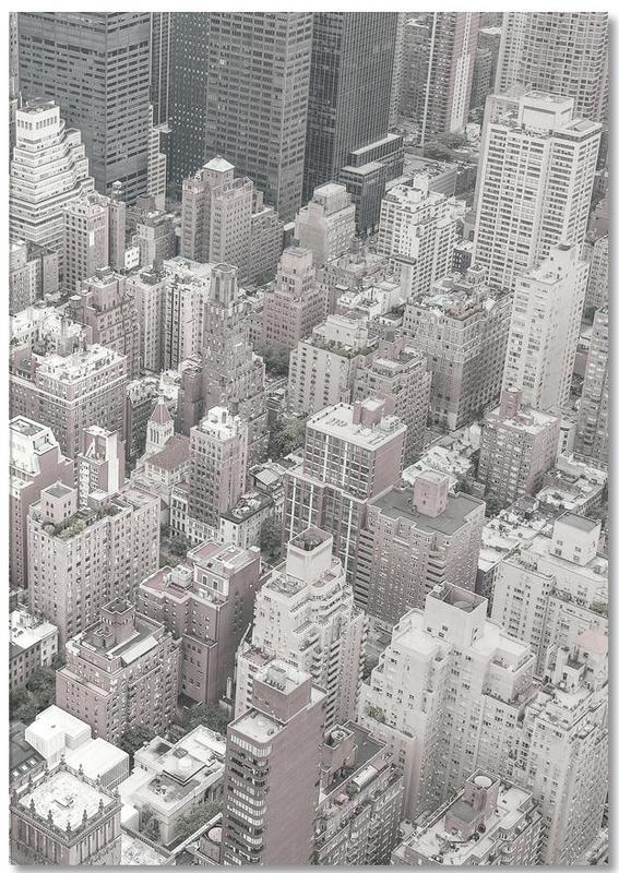 Gratte-ciels, New York, Noir & blanc, NYC bloc-notes