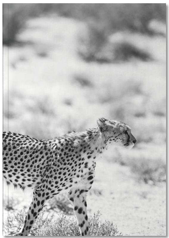 Luipaarden, Zwart en wit, Safari Kat Notebook