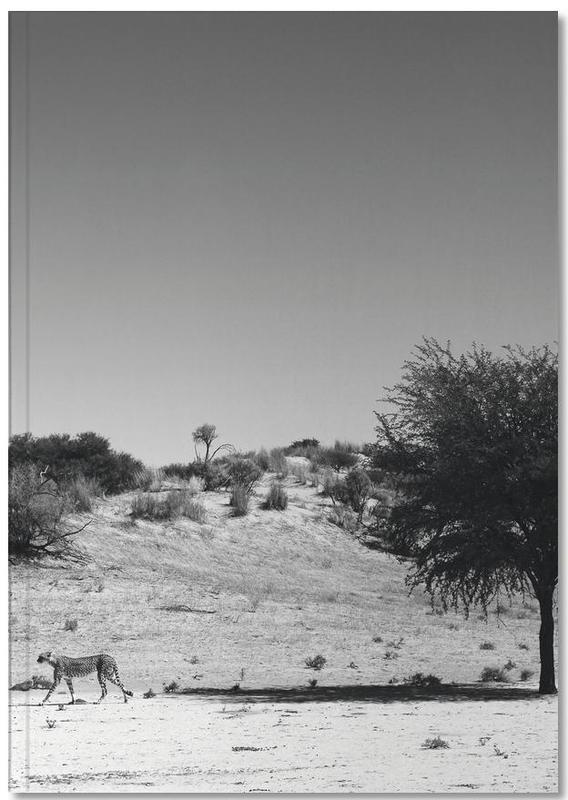 Woestijn, Luipaarden, Zwart en wit, Loner Notebook