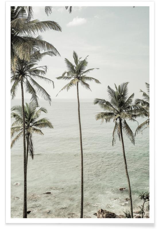 Hav, sø & havlandskab, Palmer, Tropical Dreams Plakat