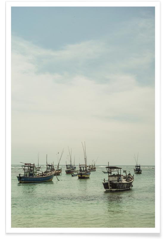 Ocean, Lake & Seascape, Boats, Sea & Salt Poster
