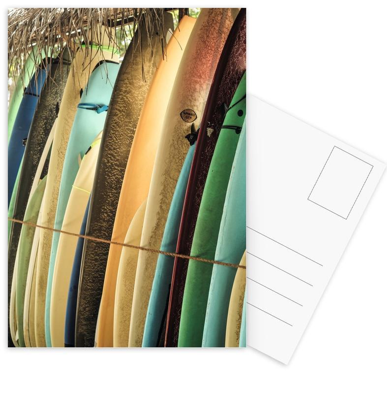 Surfen, Reizen, Ceylone Sliders ansichtkaartenset
