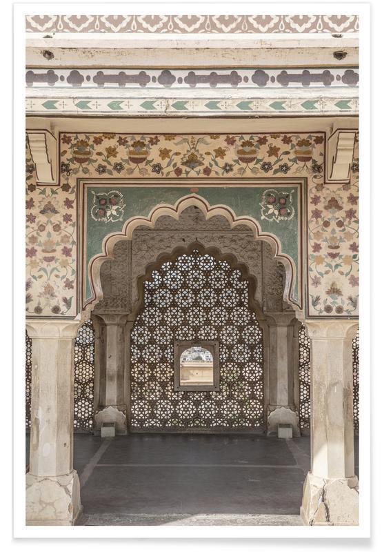 Architekturdetails, Desert Palace -Poster