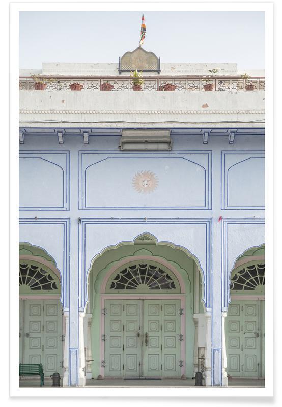 Architectural Details, Sunshine Palace Poster
