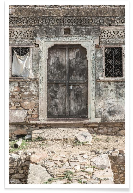 Architectural Details, Door Into History Poster