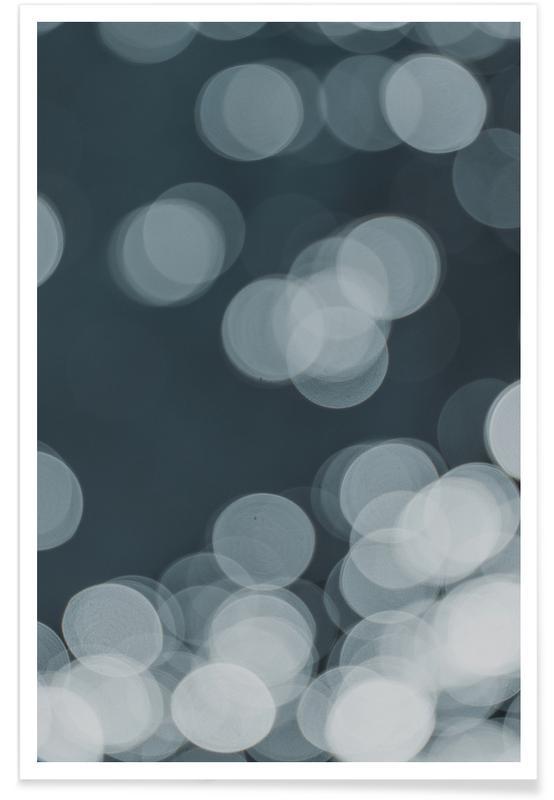 Reise, Aqua Dance Blue -Poster