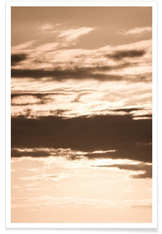 Travel, Amber Skies Poster