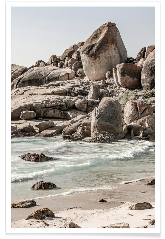 Travel, Champagne Beach Poster