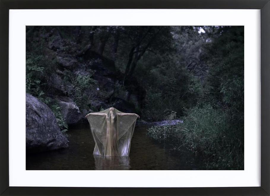 River Stories Framed Print