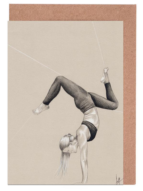 Yoga 3 Greeting Card Set